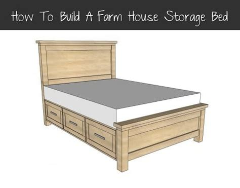 farmhouse storage bed how to build a farmhouse storage bed homestead survival