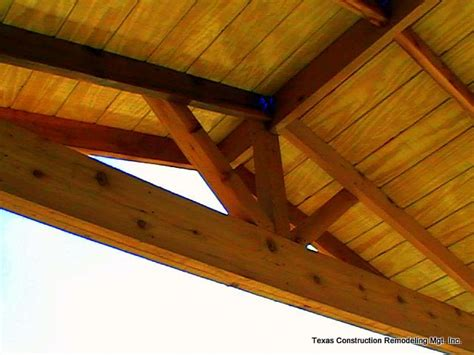 Open Rafter Porch Ceiling   Taraba Home Review