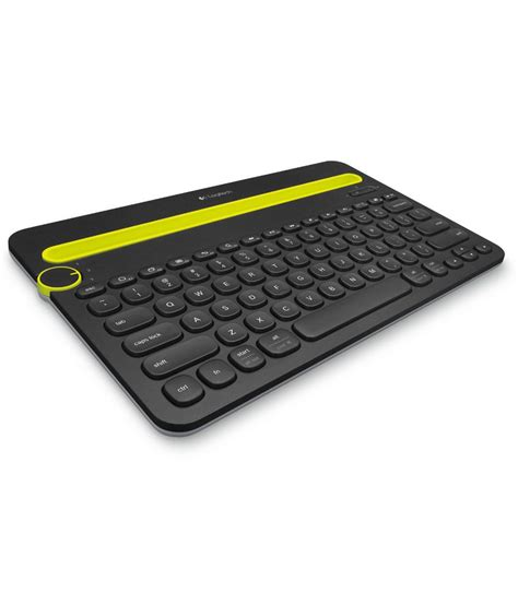 Keyboard Exsternal logitech k480 bluetooth external keyboard black for tablets mobiles laptops desktops buy