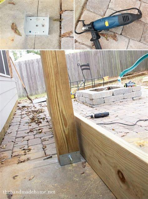 install l post concrete attach wood post to concrete floor carpet vidalondon