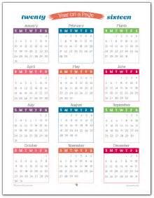 printable 2016 calendars printable calendar templates