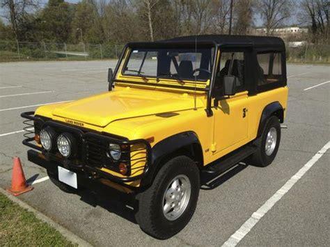 buy car manuals 1997 land rover defender 90 buy used 1997 land rover defender 90 base sport utility 2 door 4 0l in greensboro north