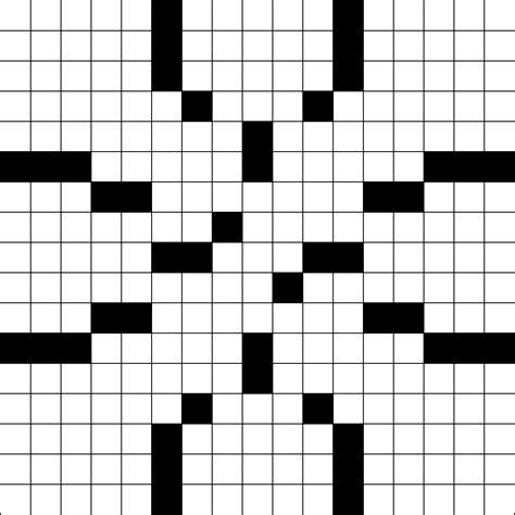 printable puzzle grid printable crossword puzzle grid blank