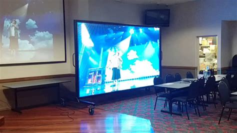 Proyektor Tv led screen vs projector