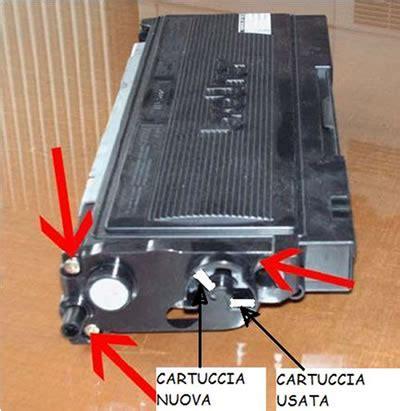 Toner Rossa istruzioni rigenerazione tn2000 istruzioni azzeramento tamburo istruzioni reset drum