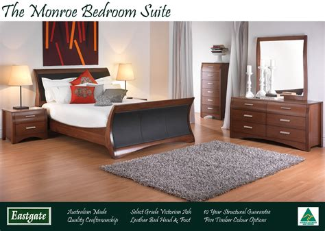Monroe Bedroom Suite The Australian Made Caign Australian Made Bedroom Furniture