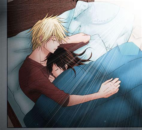 anime couple good morning good morning by jalonzo1610 on deviantart