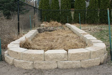 Raised Rock Garden Beds Raised Garden Beds Freshly Built Stack Wall Raised Bed Ready For Planting 1567