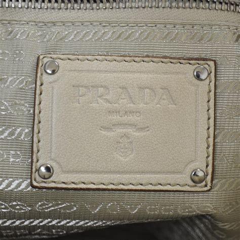 Prada Napa Fringe Hobo by Prada Nappa Leather Fringe Hobo Cera 24308