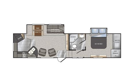 keystone fifth wheel floor plans keystone avalanche fifth wheel chilhowee rv center