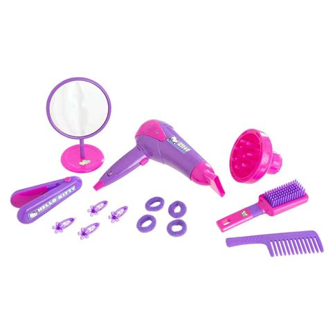 Hello Hair Dryer Toys R Us hello hair care bag play set pretend hairdryer make up ebay