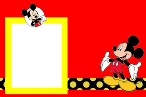 como hacer a mickey mouse en hoja cuadriculada a cuadritos tarjetas para imprimir gratis de mickey mouse con fondos