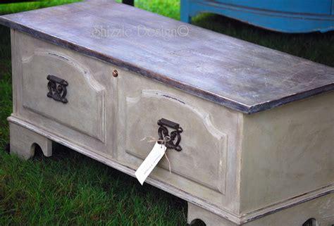 shizzle design cedar chest transformation