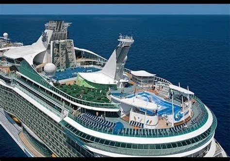 largest cruise line world s biggest cruise ship sets sail from france
