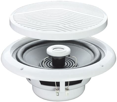 Moisture Resistant Ceiling Speakers e audio 4 ohm line ceiling speakers with 2 way