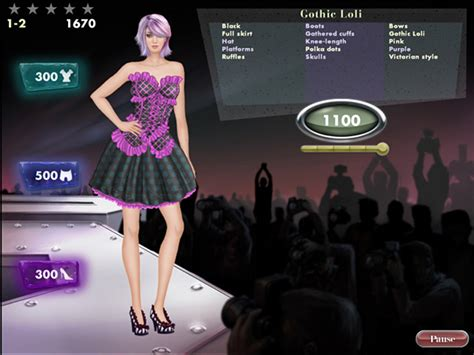 design clothes online free game games for the international fashionista big fish blog