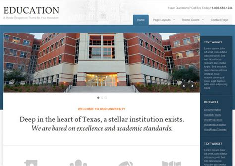 theme for education site 12 best education wordpress themes for educational websites