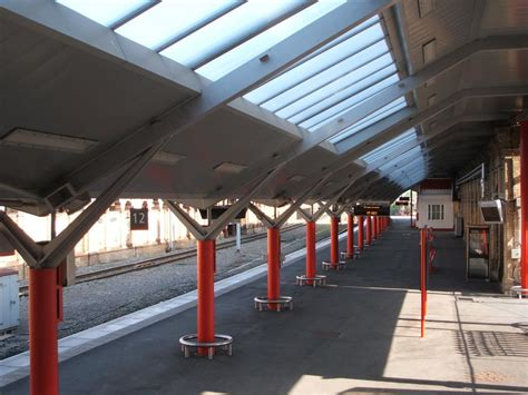 non fragile safe rooflights for use in station canopies