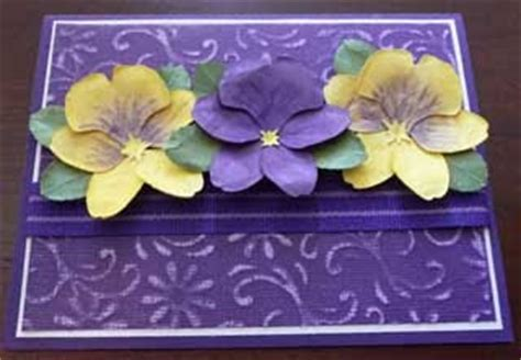 How To Make Paper Violets - paper compulsions paper flower violet or pansy