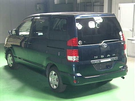 Noha Toyota Toyota Noha 2005 Blue Clickbd