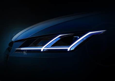 Audi Led Scheinwerfer by 2015 Audi Tt Front Led Daytime Running Lights Forcegt