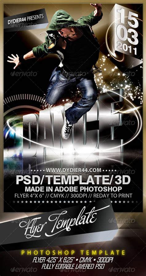 Graphicriver Extreme 3d Flyer Template 4x6 Quot 187 Gfxtra 3d Flyer Templates