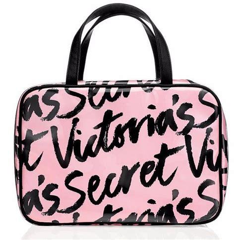 Secret Travel Bag Pink 1 s secret signature pink travel cosmetic organizer makeup bag nwt ebay