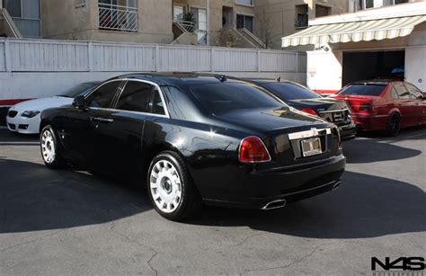 rolls royce ghost length rolls royce ghost custom wheels vossen vvs083 22x9 0 et