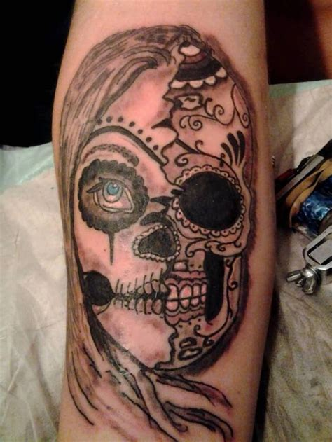 skeleton face tattoo 38 best skull images on skull