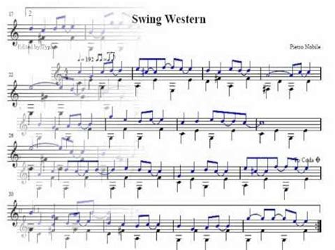 western swing guitar chords guitar pietro nobile swing western youtube
