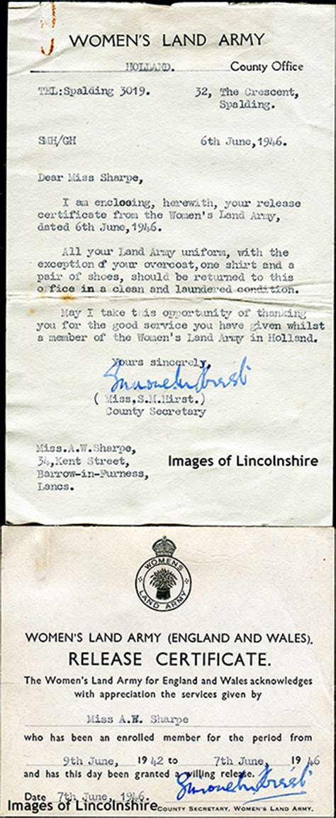 Letter Release Army Unit Ww2 Images