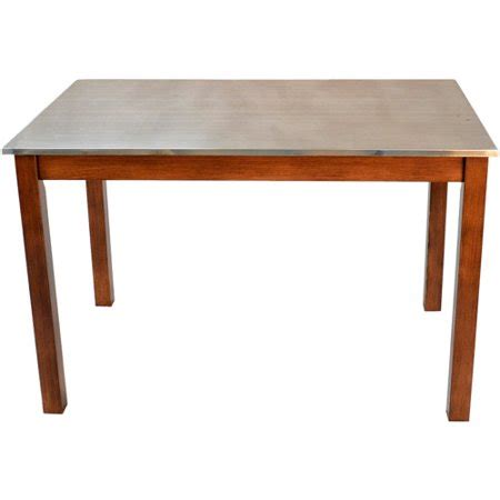 dining table stainless steel top cooper stainless steel top dining table colors
