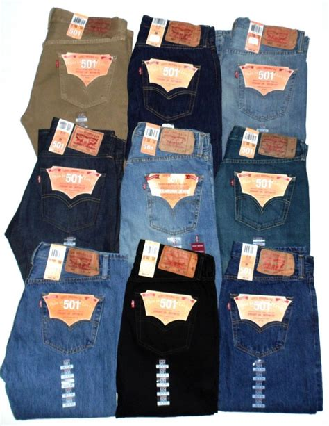 Levis Standar Reguler Big Size 33 40 levis 501 mens button fly authentic big waist 46 60 new with tags ebay