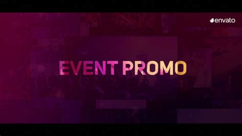Event Promo Commercials After Effects Templates F5 Design Com Event Promo Template Free