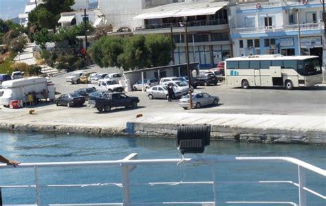 ferry boat agia marina nea styra distances from the hotel karystion