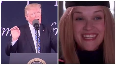 Donald Trump Legally Blonde | trump plagiarizes commencement speech from legally blonde