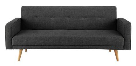 futon du monde broadway midcentury style sofa bed at maisons du monde