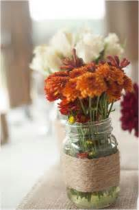 centerpieces for fall wedding receptions wedding decor simple centerpiece for a fall wedding