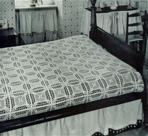 coquette bedspread pattern  crochet patterns