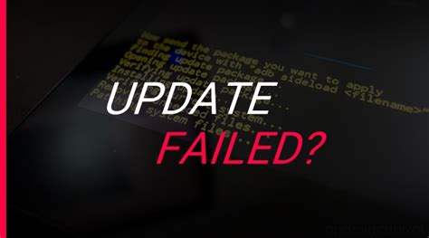 android failed verizon galaxy s5 sm g900v update failed error fix the android soul