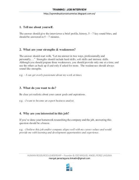 preguntas entrevista de trabajo mexico 9 preguntas y respuestas imprescindibles en una entrevista