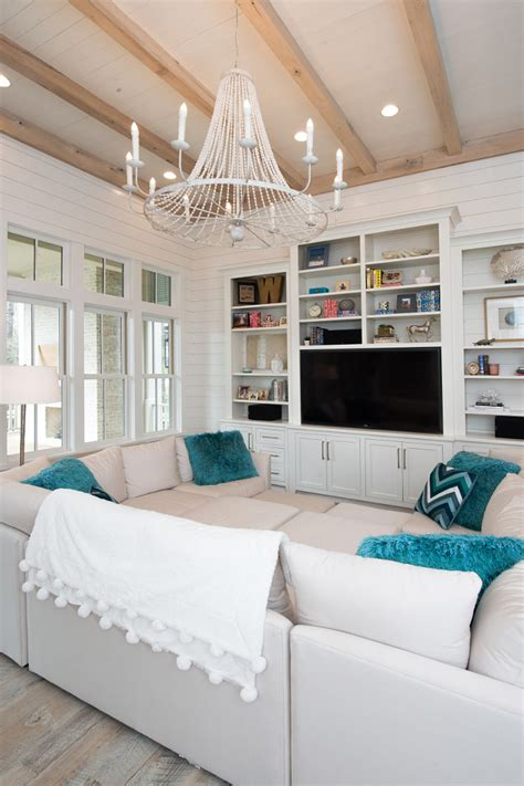 beach house  transitional coastal interiors home