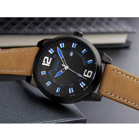 Obral Murah Jam Tangan Pria Montblannc Kulit 13 skmei jam tangan kulit pria 1221 blue jakartanotebook