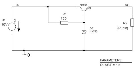 zener diode as voltage regulator on pspice zener diode voltage regulator pspice 28 images pspice op why use two power sources when