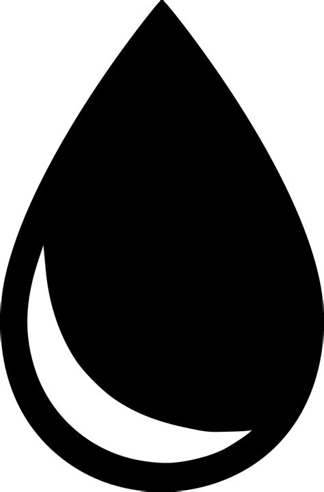 water drop drink fluid svg png icon