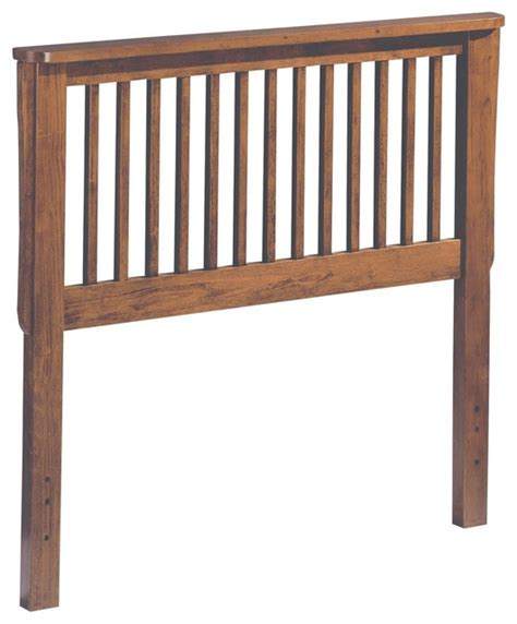 wood twin headboard homelegance mission solid wood headboard in oak twin
