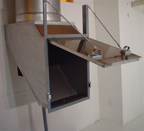 Built In Trash Compactor by Linen Chutes Chutes International