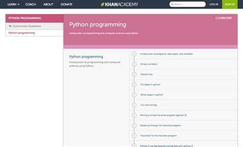 coding hints python programming python programming khan academy