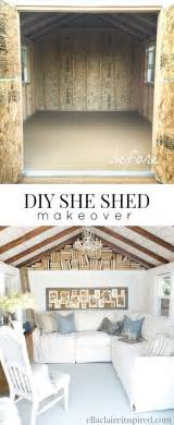 Diy She Shed by She Shed Reveal Ella Claire
