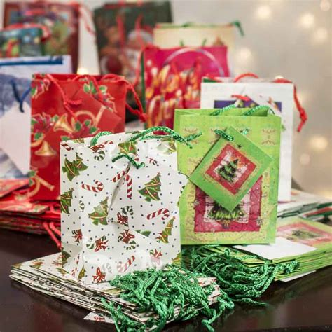 best small christmas gift bags photos 2017 blue maize